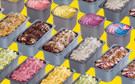 мороженое в контейнерах