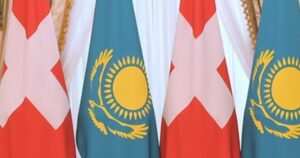 флаги РК и Швейцарии